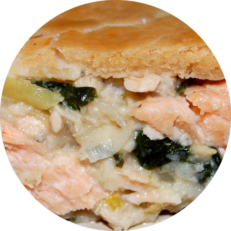 Pâté au saumon